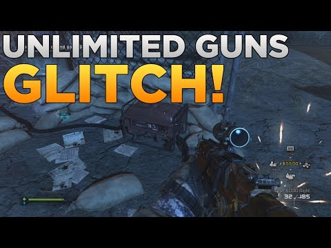 COD Ghosts - Unlimited Guns Glitch on Extinction! (COD Ghosts Glitches)