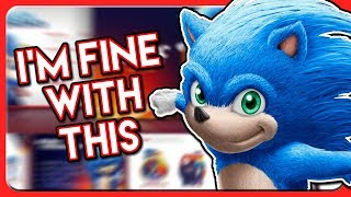 I'm Fine With The NEW Sonic 2019 Movie Leaked Design (REACTION/DISCUSSION)