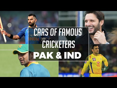 Pakistan & India | Cars Of Famous Cricketers | ICC World Cup 2019 | PakWheels