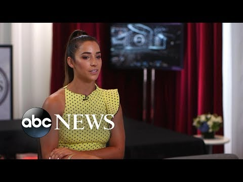 Aly Raisman opens up about winning the ESPY's Arthur Ashe Courage award