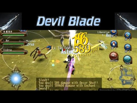 Toram Online - Devil Blade Lv. 145 vs Odelon Machina ( Build Release Announced )