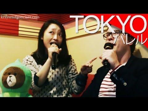 Karaoke i zabawa w Japonii [Tokyo] // Japanese karaoke bar [Eng subs]