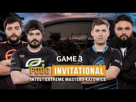 IEM PUBG Invitational Katowice 2018 Game 3