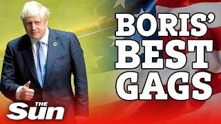 Boris Johnson's best gags in NYC