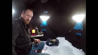 Alaska Ice Fishing Ep 1