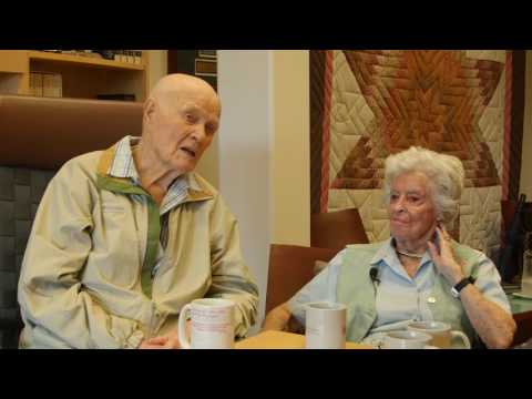 John Glenn and Annie Glenn  08.2016
