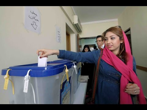 Reformists and moderates drawing votes in Iran