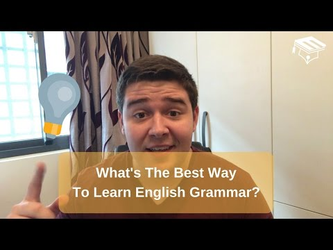 Whats The Best Way To Learn English Grammar