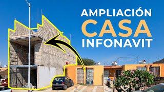 AMPLIACIÓN CASA DE INFONAVIT | 4X15 MTS | OBRAS AJENAS | PARTE 1