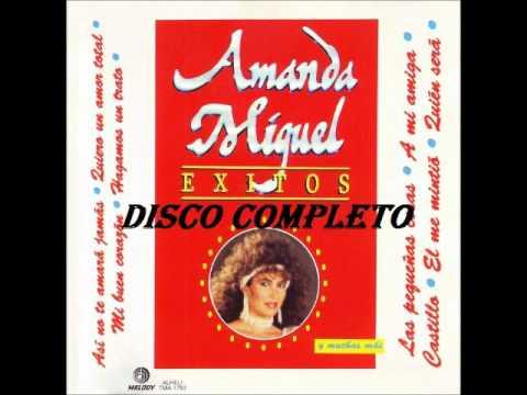 """AMANDA MIGUEL """"ÉXITOS"""" . (Disco Completo)"""