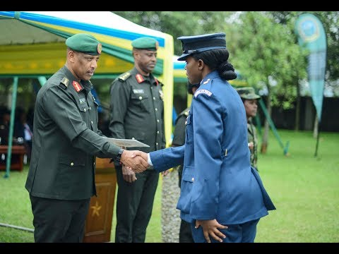 Senior African and European Military Officers graduate in Rw