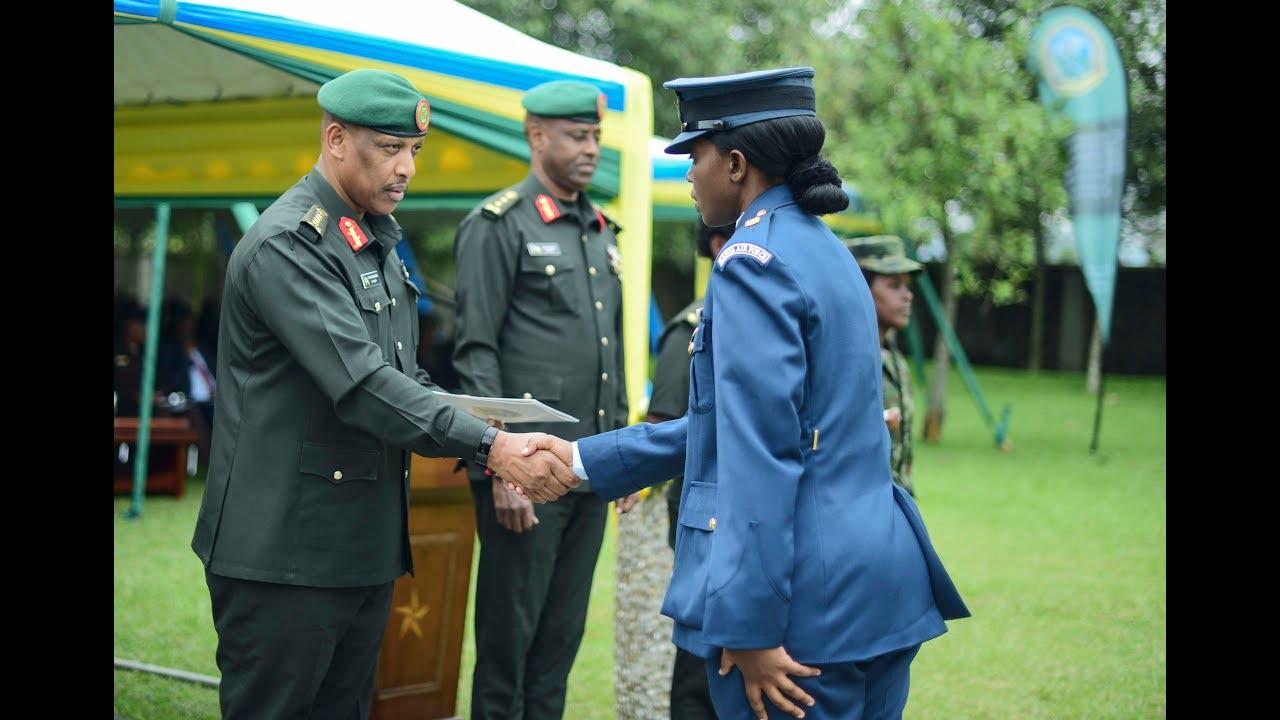 Senior African and European Military Officers graduate in Rwanda