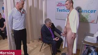 Repeat youtube video TV NEWS: Testicle exam on This Morning