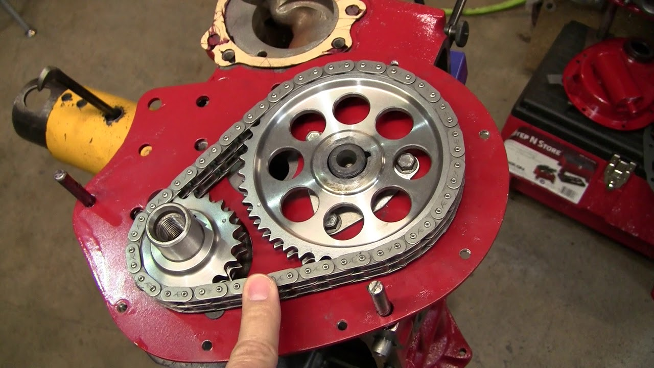 Removing Slack In A-Series Engine Timing Chains