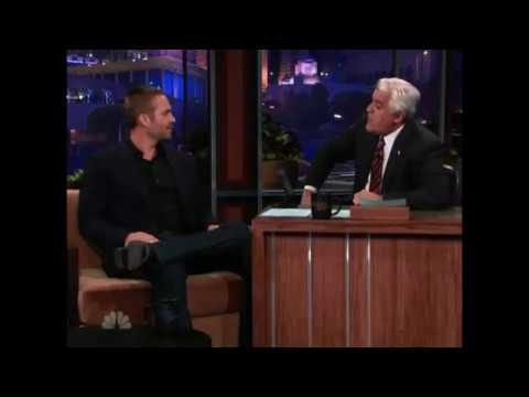 Paul Walker on Jay Leno 2011