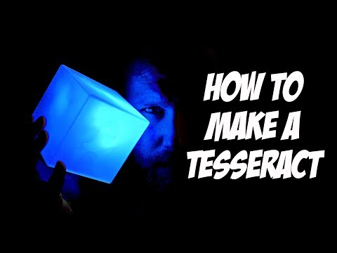 How to Make a Tesseract Infinity Cube from the Avengers Movie | DIY | #THORGUST