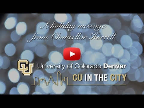 CU Denver Holiday Card 2017