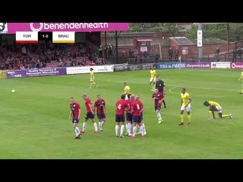 York City 1-0 Brackley Town | Matchday Highlights
