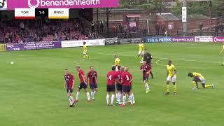 York City 1-0 Brackley Town   Matchday Highlights