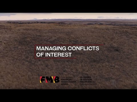 Managing Conflicts of Interests