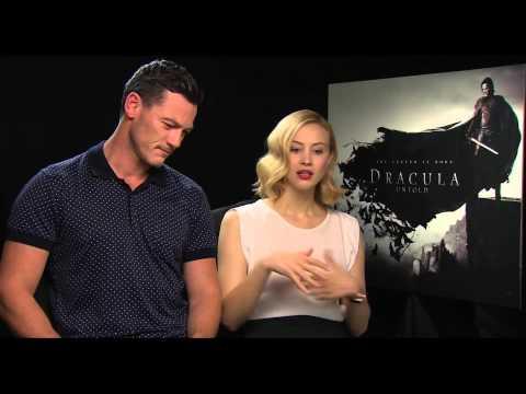 Luke Evans and Sarah Gadon Interview - Dracula Untold