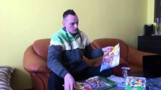 UNBOXING PRZESYŁKI Z CARDS PLANET - BRAZYLIA 2014 :)