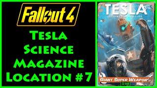 Fallout 4 - Tesla Science - Mass Fusion Building - 4K Ultra HD