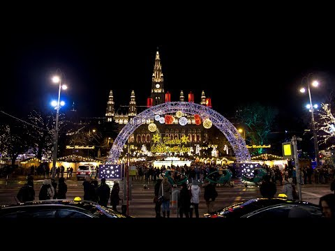The most beautiful Christmas Market in the world - Vienna (Wien) Austria