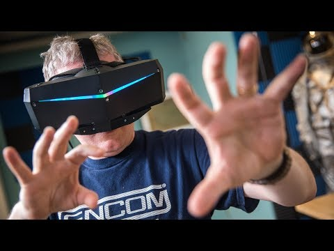 PROJECTIONS, Episode 24: Pimax 8K VR Headset Hands-on!
