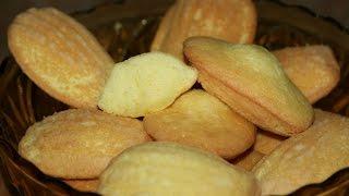 Recette Madeleines Au Citron - Lemon Madeleine Recipe - Recettes Maroc