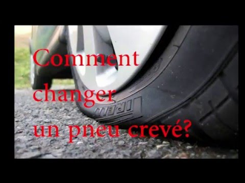 comment changer un pneu crev how to change a flat tire easy step by step youtube. Black Bedroom Furniture Sets. Home Design Ideas