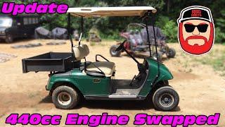 440cc Golf Cart Engine Swap 2 year Update