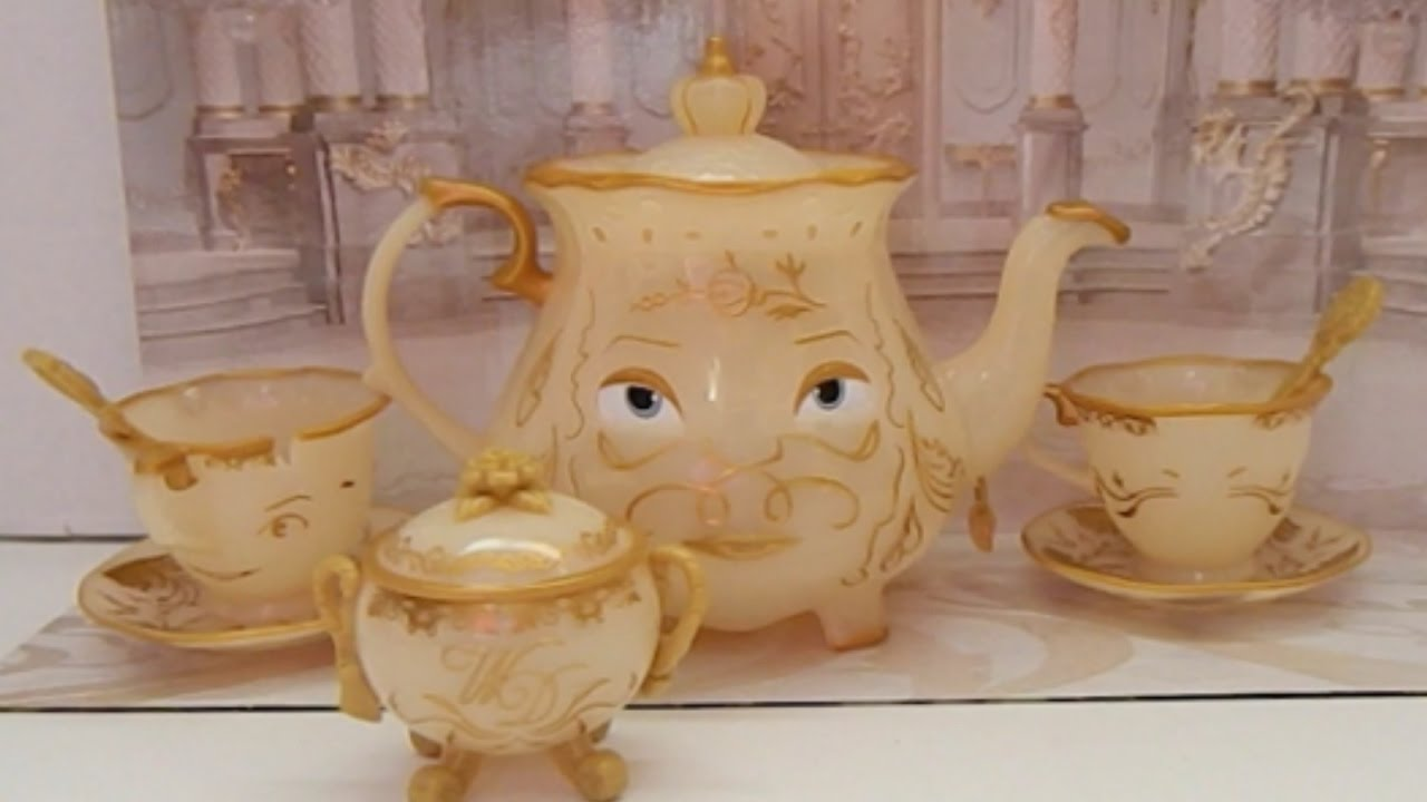 Tea Set Toy From Disney Beauty And The Beast Enchanted Objects