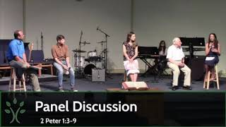 Panel Discussion (Message for 7/12/20)