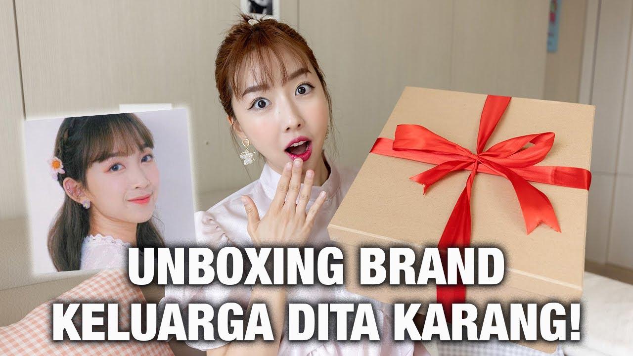 UNBOXING BRAND KELUARGA DITA KARANG (SECRET NUMBER) ! BANYAK BANGET!