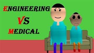 Make Joke Of - Engineering vs Medical | mastiline 4u