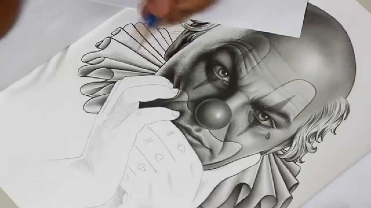Dibujando Un Payaso Cholo Graffiti Tattoo Tatuajes Dibujos Youtube