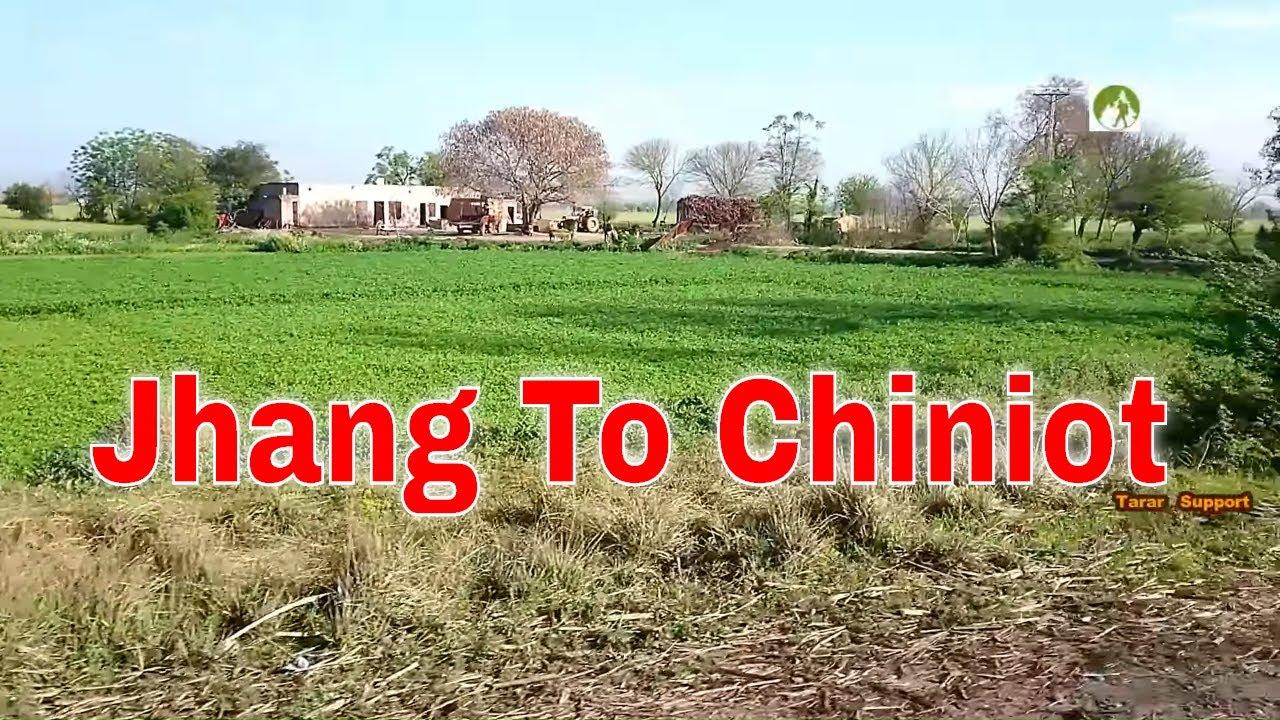 Pakistan Travel Jhang To Chiniot Road Trip