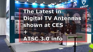 The State of the Art in TV Antennas - CES - Consumer Electronics Show