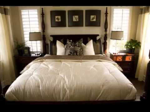 Small Master Bedroom Ideas Captivating Easy Diy Small Master Bedroom Design Decorating Ideas  Youtube Design Ideas