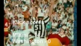 Perfect and UnDefeated Miami Dolphins - 1972