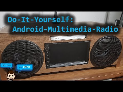 DIY - Do-It-Yourself - 2-DIN Android Multimedia Radio Selbst Bauen | DAB - Analog - Internet  -Radio