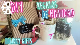 DIY ❄ Regalos Faciles para Navidad | DIY Easy & CHEAP Holiday Gifts Ideas