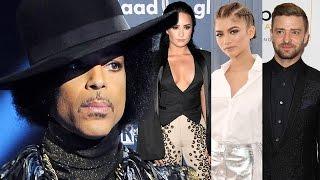 Celebrities React To Prince