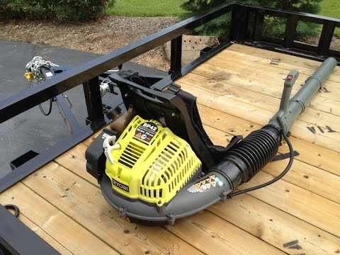 Fixing Ryobi Backpack Blower Youtube
