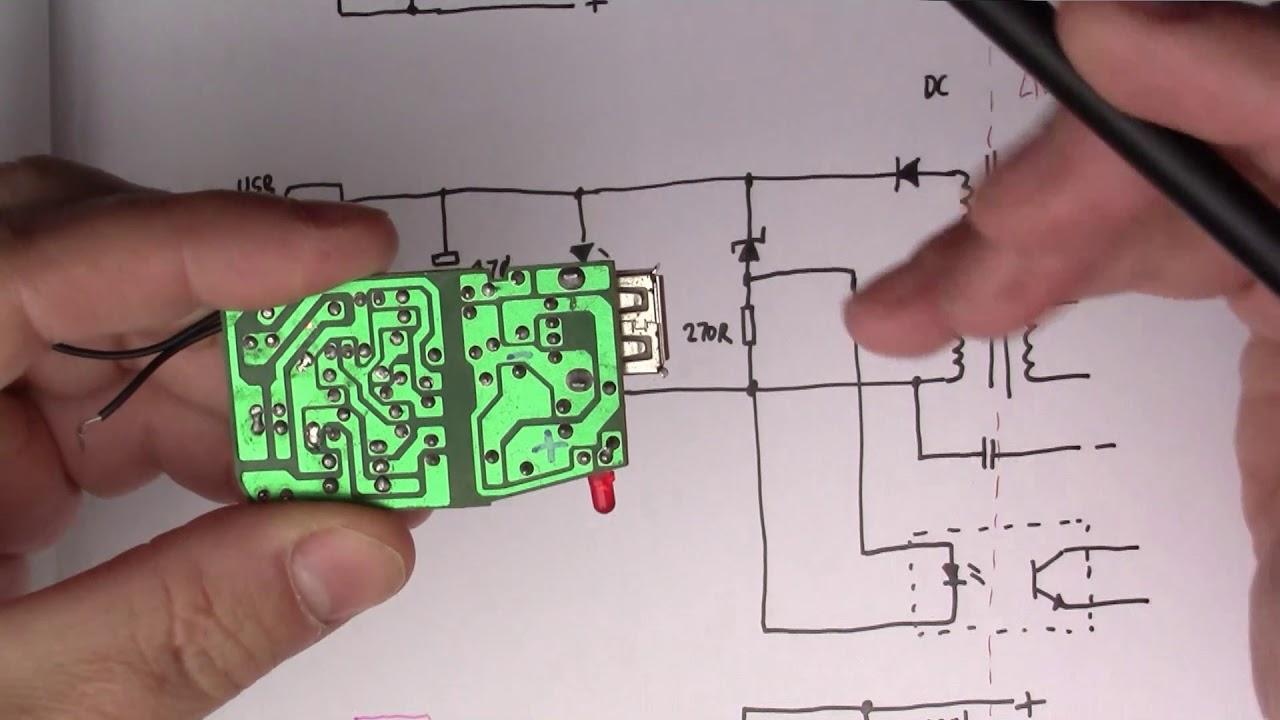 usb wall wart power supply teardown 47  [ 1280 x 720 Pixel ]