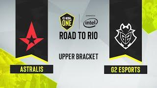 CS:GO - Astralis vs. G2 Esports [Vertigo] Map 1 - ESL One: Road to Rio - Upper Bracket - EU
