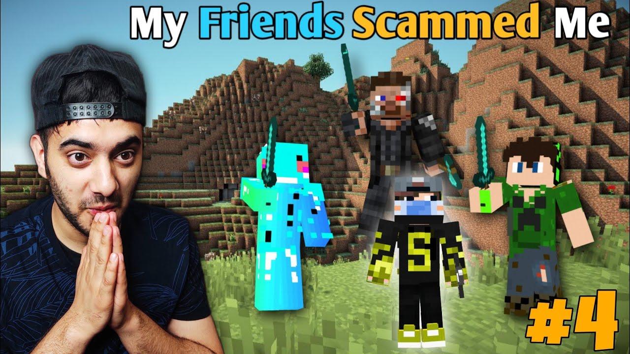 Download My Friends Scammed Me So I Took 200IQ Revenge | Minecraft Himlands [S-3 part 4]