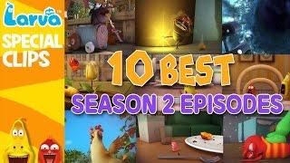 official best larva episodes - season 2 - top 10