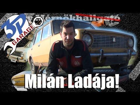 Milán és a Ladája!